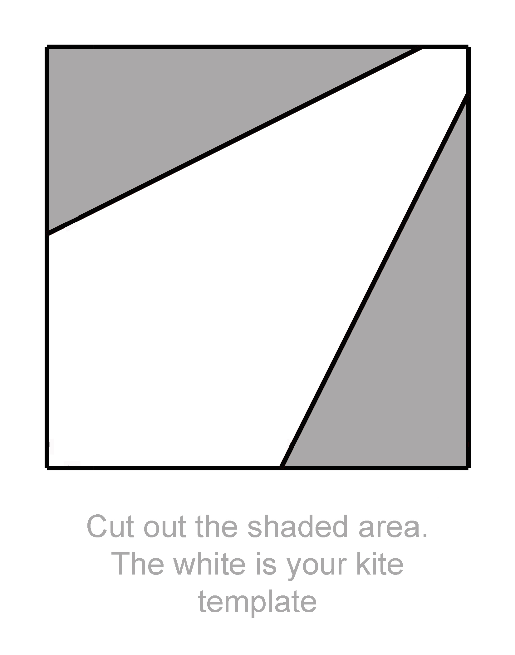 make a kite template Anjeanette K 7